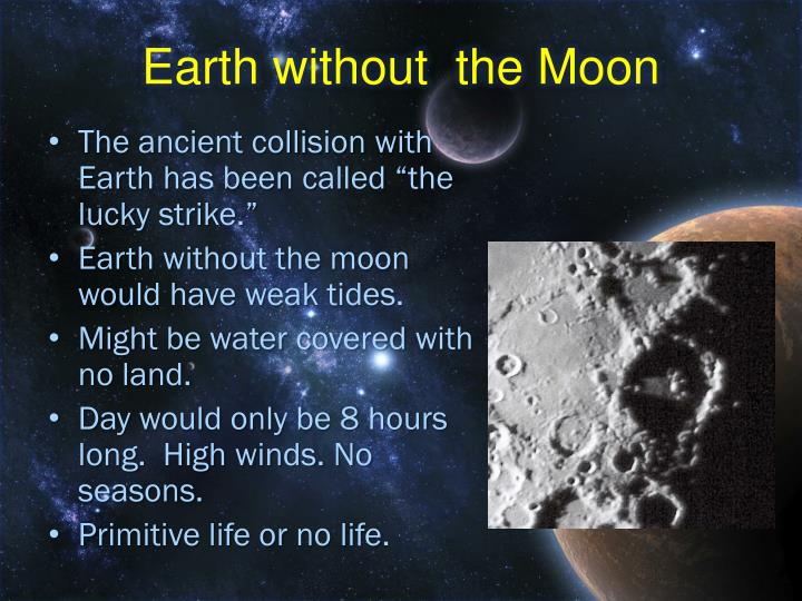Earth without  the Moon