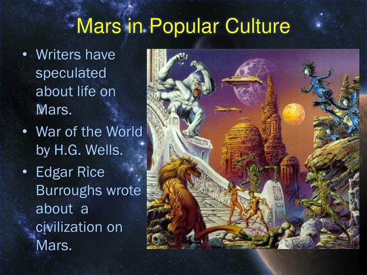 Mars in Popular Culture