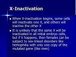 x inactivation1