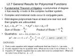 l2 7 general results for polynomial functions