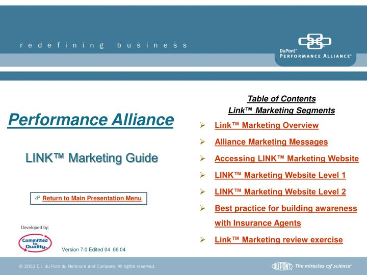 Link marketing guide
