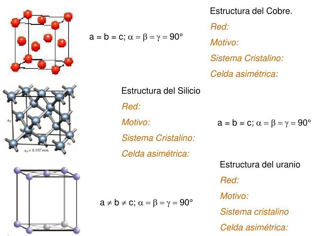 Ppt Curso Estructura De Sólidos Powerpoint Presentation