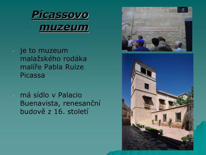 Picassovo muzeum