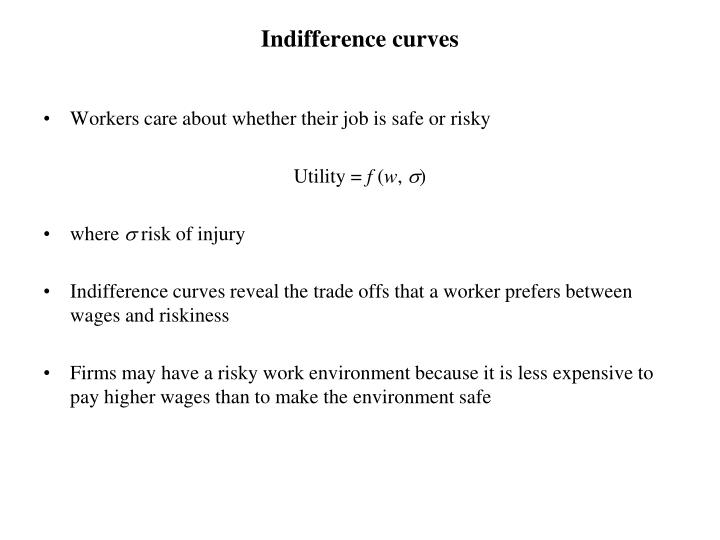 indifference curves n.