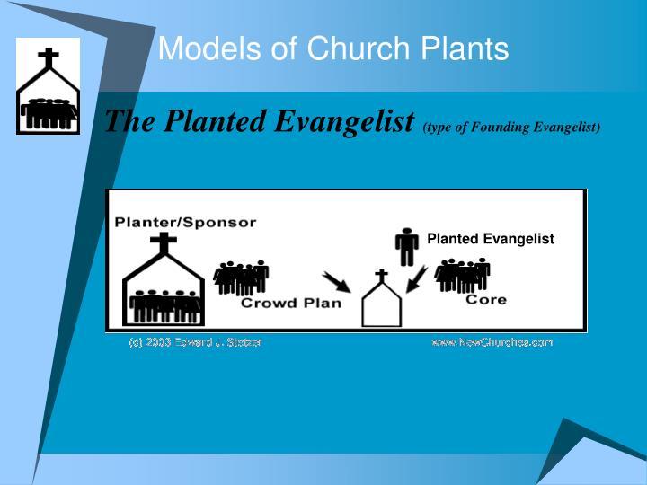 Models of Church Plants