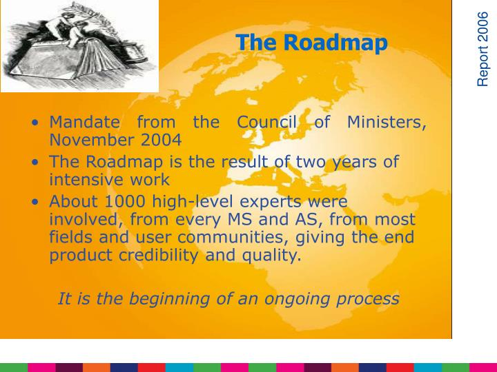 Mandate from the Council of Ministers,