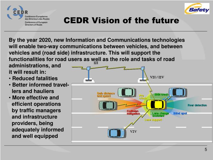 CEDR Vision of the future