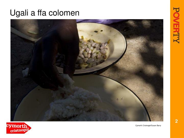 Ugali a ffa colomen