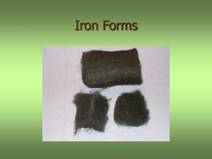 Iron Forms