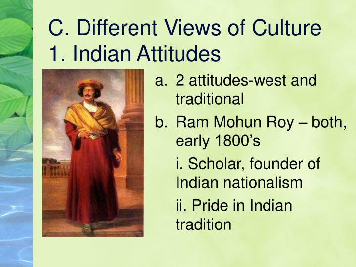 C. Different Views of Culture