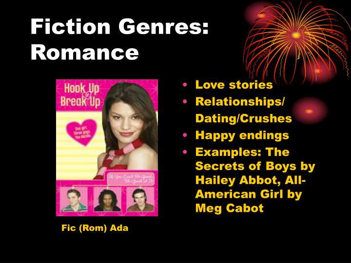 Fiction Genres: