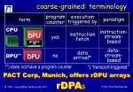coarse grained terminology1