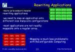 rewriting applications