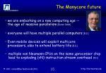 the manycore future