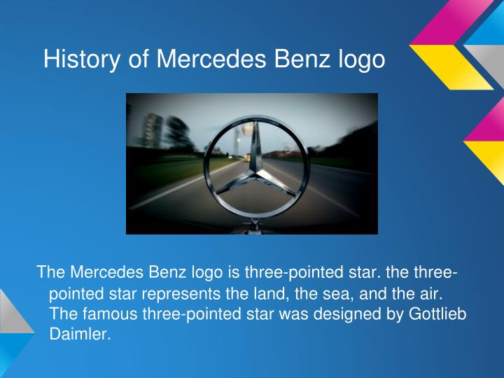 History of Mercedes Benz logo