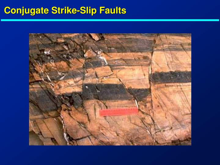 Conjugate Strike-Slip Faults