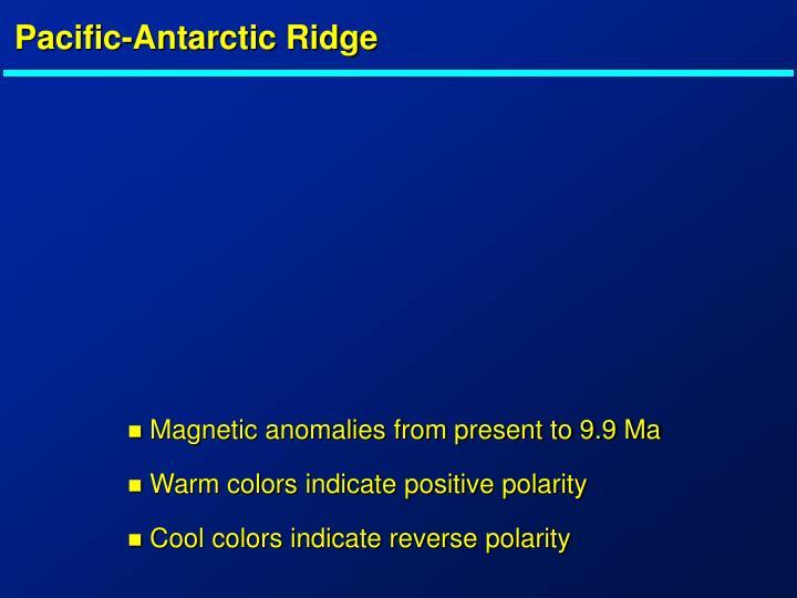 Pacific-Antarctic Ridge