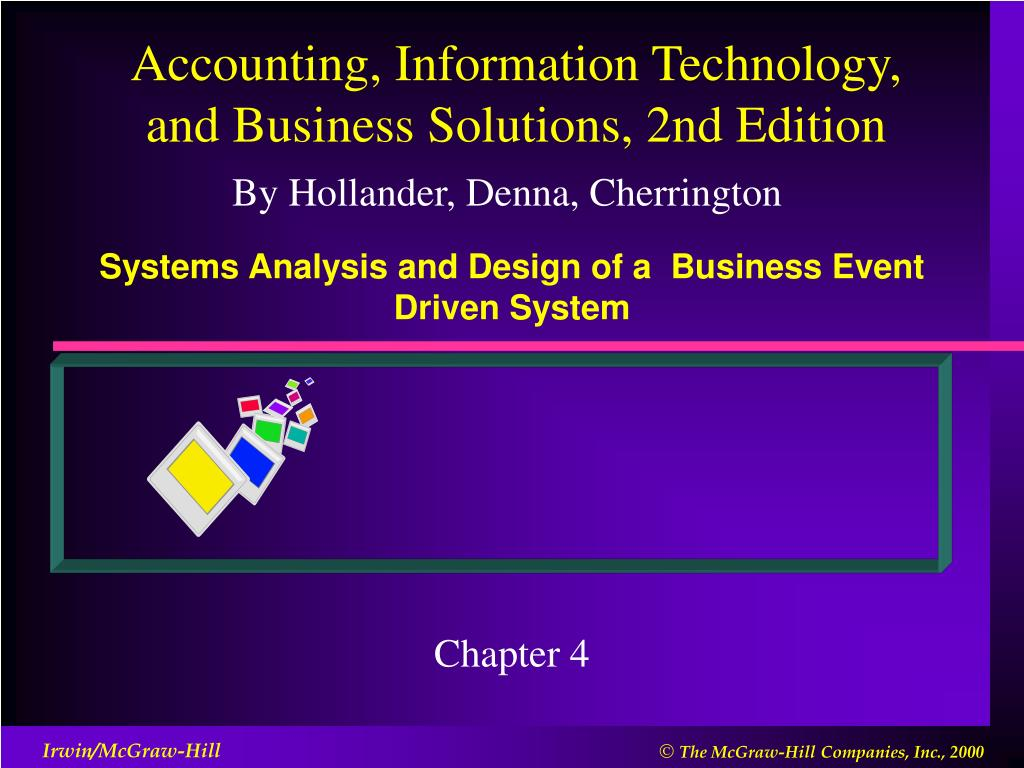 Ppt Systems Analysis And Design Of A Business Event Driven System Powerpoint Presentation Id 3766591