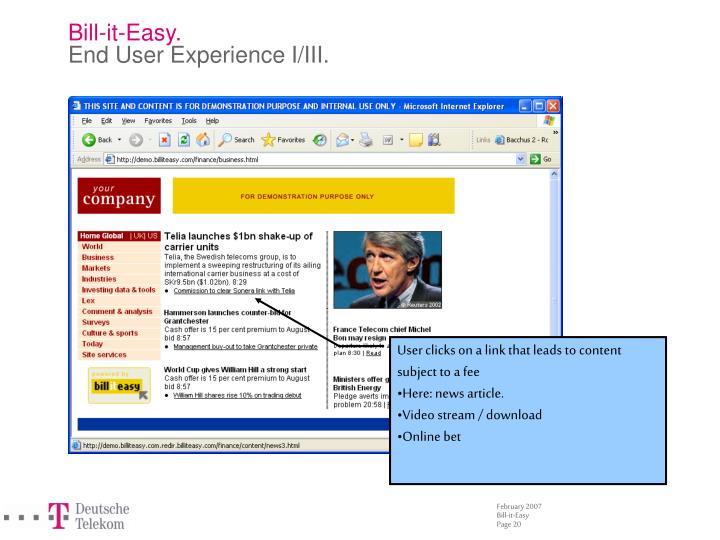 Bill-it-Easy.