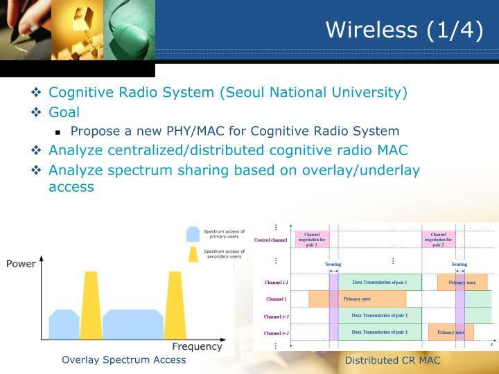 Wireless (1/4)