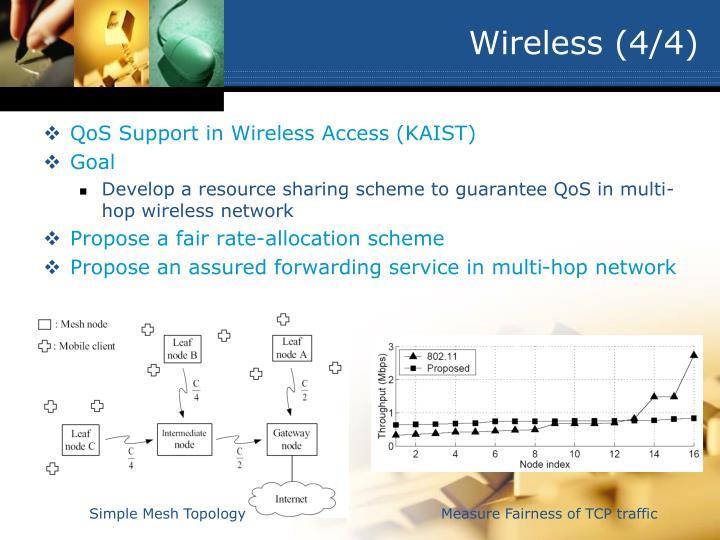 Wireless (4/4)