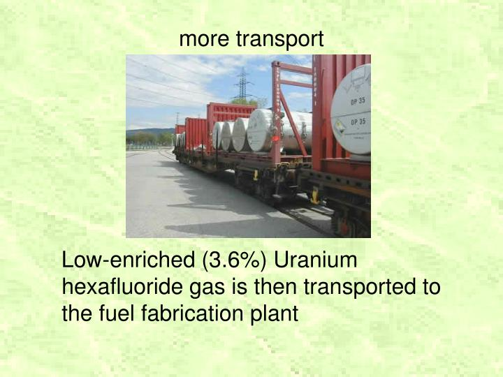 more transport