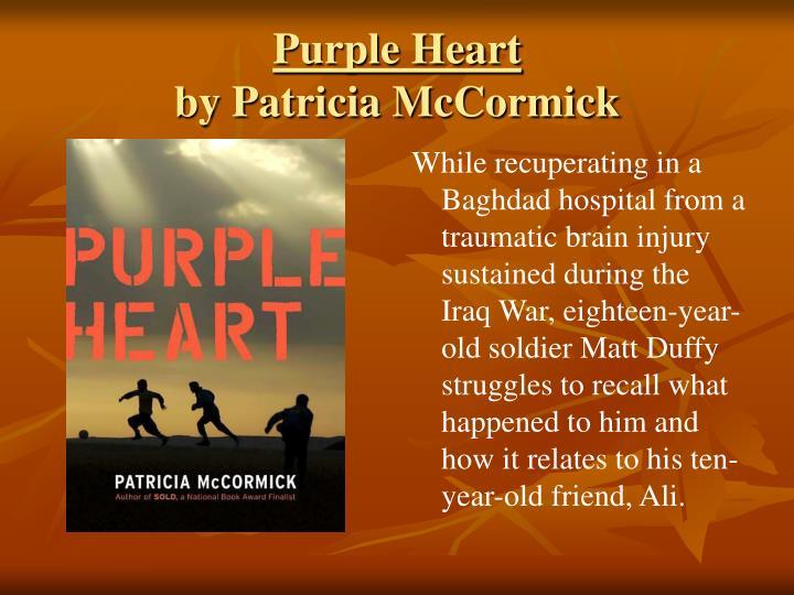 purple heart mccormick patricia