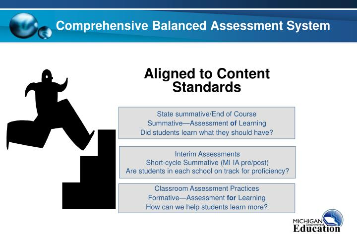 Comprehensive balanced assessment system