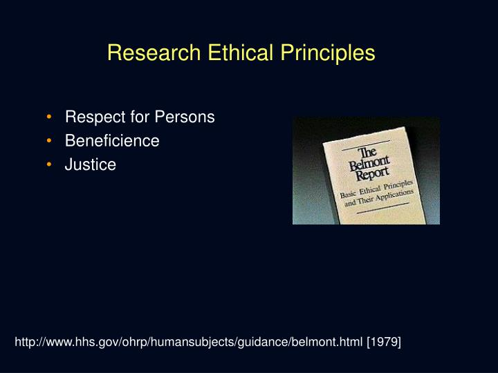 Research Ethical Principles