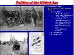 politics of the gilded age12