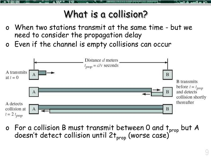 What is a collision?