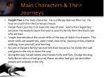 main characters their journeys