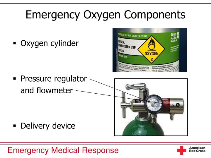 Emergency Oxygen Components