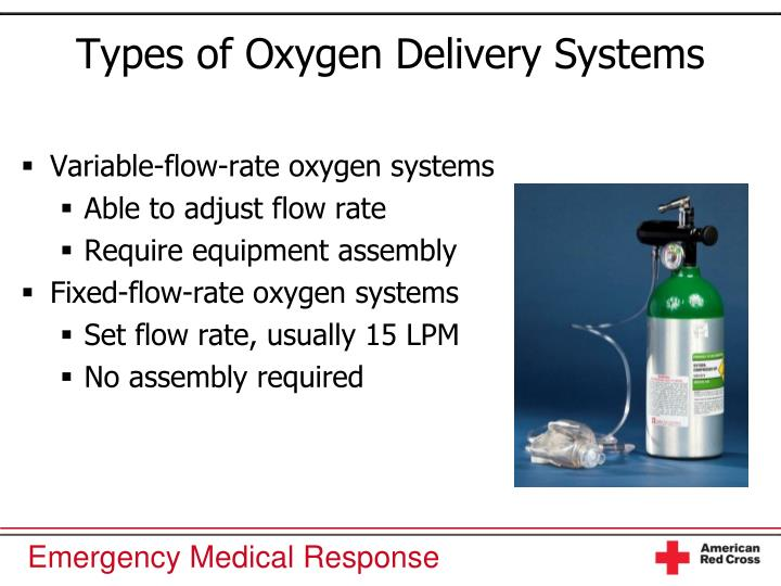 Types of Oxygen Delivery Systems