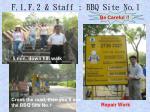 f 1 f 2 staff bbq site no 1