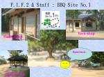 f 1 f 2 staff bbq site no 11