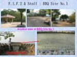 f 1 f 2 staff bbq site no 12