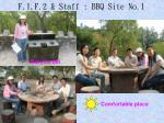 f 1 f 2 staff bbq site no 13