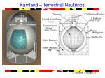 kamland terrestrial neutrinos