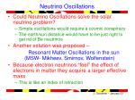 neutrino oscillations1