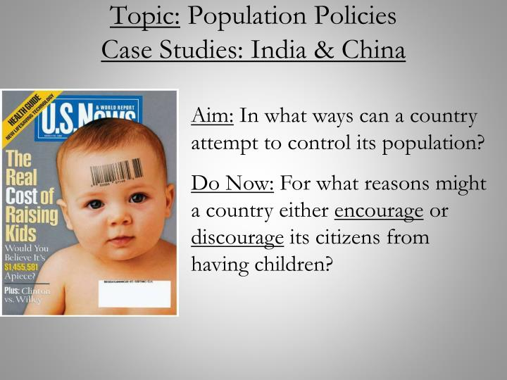 china population policy case study