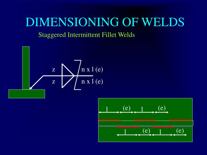 Ppt Welding Symbols Iso 2553 And Weld Joint Design Powerpoint