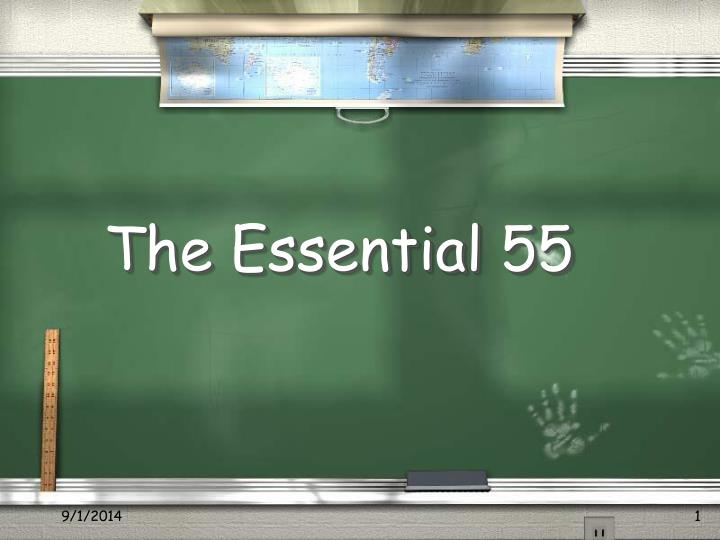 the essential 55 n.