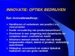 innovatie optiek bedrijven