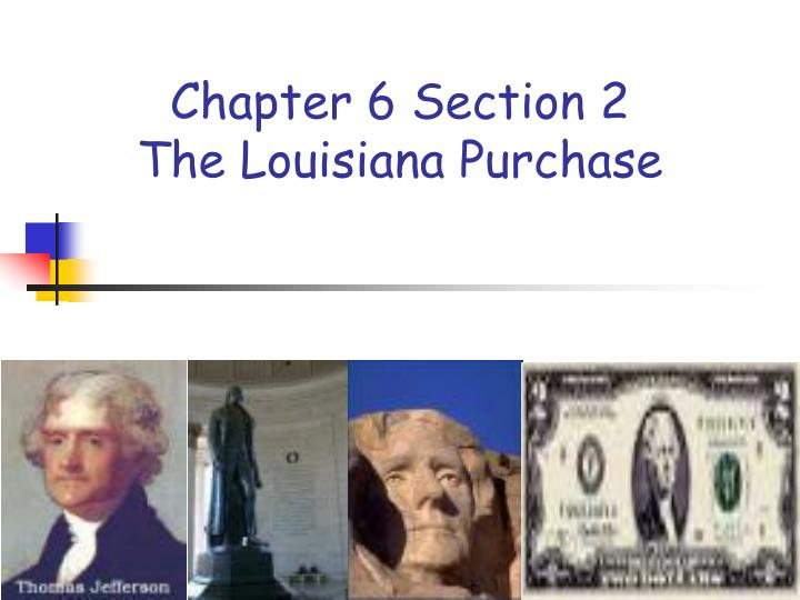 louisiana purchase powerpoint presentation