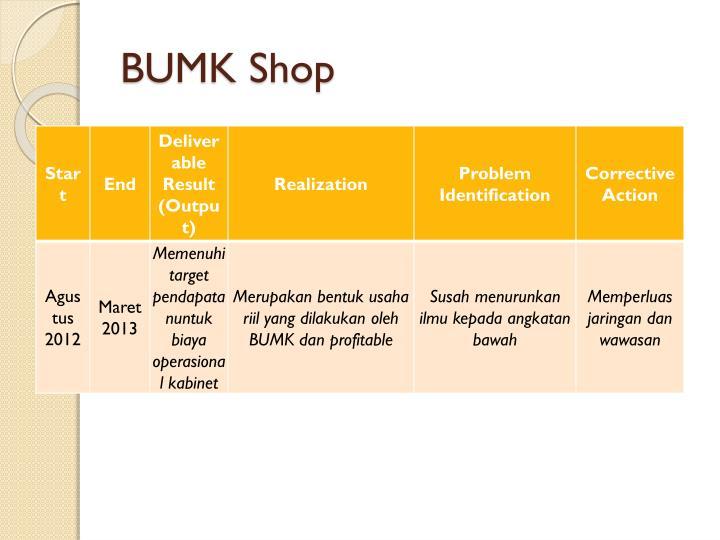 BUMK Shop