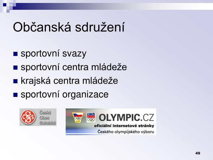 Občanská sdružení