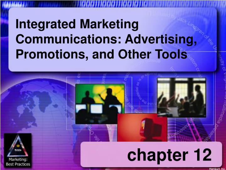 integrated marketing communications advertising promotions and other tools n.