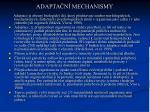adapta n mechanismy