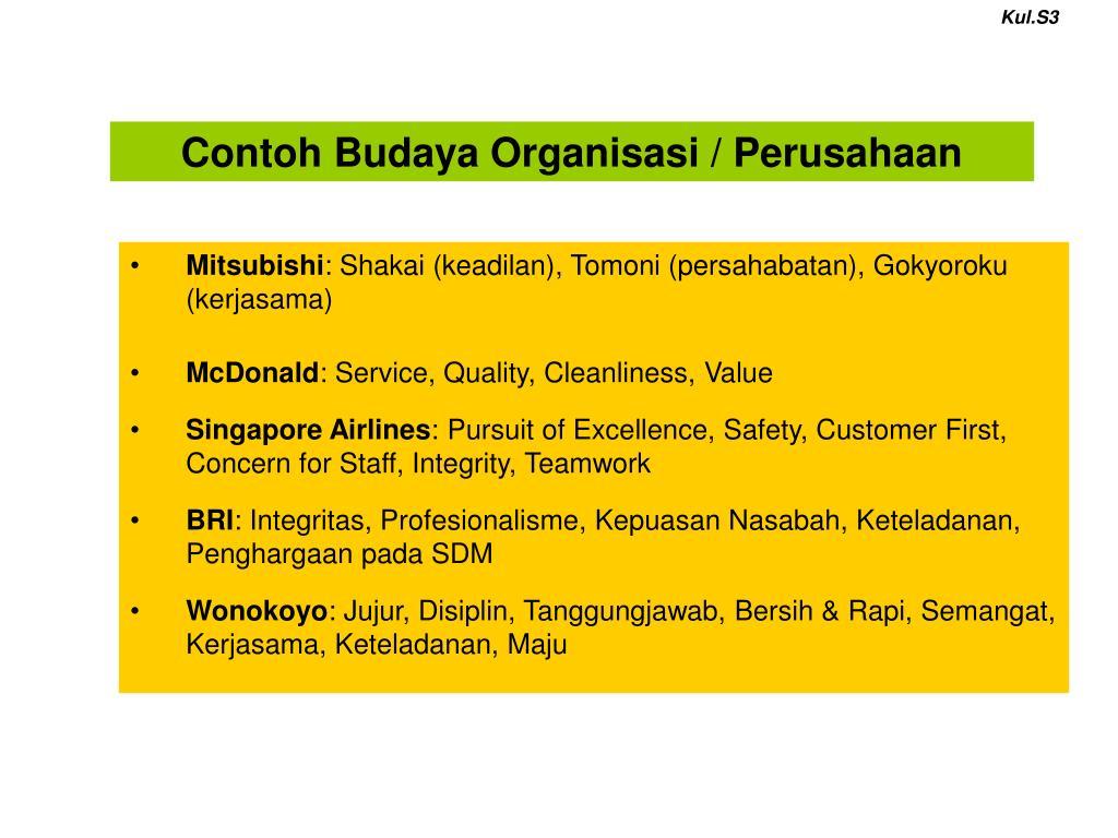 Ppt Budaya Organisasi Powerpoint Presentation Free Download Id 3771694